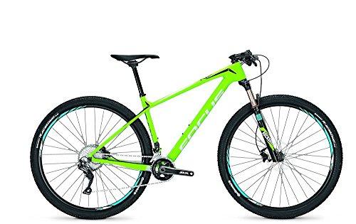 Bicicleta de montaña Focus Raven Core 29 pulgadas para hombre, 22 G, Shimano SLX Div. Rh, altura del cuadro: 54 cm; colores: verde/negro