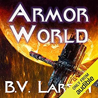 Armor World audiobook cover art