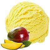 Mango Geschmack 1 Kg Gino Gelati Eispulver für Milcheis Softeispulver Speiseeispulver