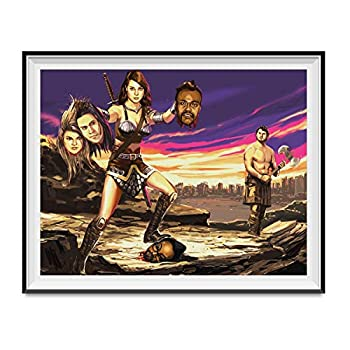 My Party Shirt April Ludgate Christmas Miracle Poster Black Eyed Peas Parks & Recreation 11x14