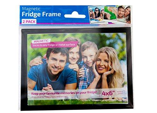Magnetic Fridge Photo Frame with Black Border