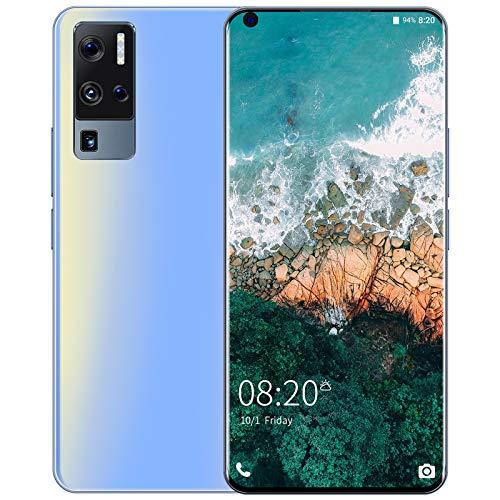 CYJ 4G Smartphone, Écran Goutte d'eau 7.0 Pouces Caméras 24MP+48M, Face ID, Android 10.0 Téléphone Portable Débloqué, 8Go RAM + 128 Go ROM, Batterie 5500mAh