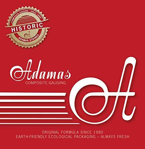 Adamas Cuerdas para Guitarra Acústica Cuerdas Sueltas Lisas - Acero .009