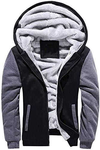 Amazon Essentials Men's Long-sleeve Hooded Full-zip Polar Fleece Jacket, Light Grey, X-Large