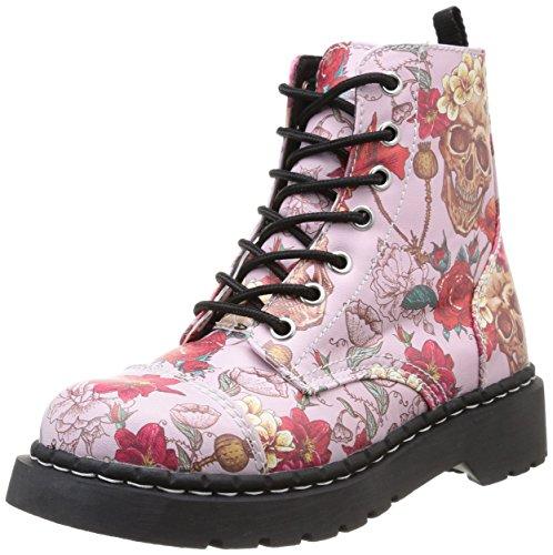 T.U.K. Anarchic, Damen Stiefel & Stiefeletten Rosa rosa 37