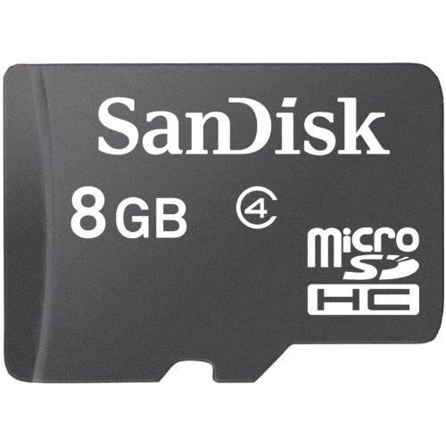 SanDisk 8GB MicroSDHC Card  (SDSDQ 008G A11M)