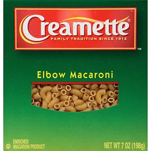 Creamette Elbow Macaroni Pasta (CASE OF 12) 7 oz Boxes Noodles