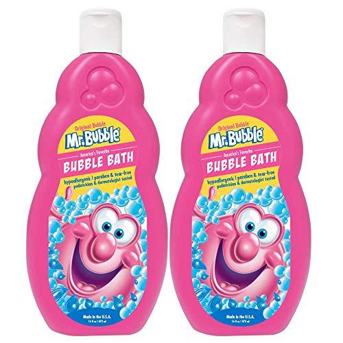 Mr. Bubble Original Bubble Bath 16 Ounce Pack of 2