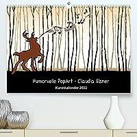 Humorvolle PopArt - Kunstkalender von Claudia Elsner (Premium, hochwertiger DIN A2 Wandkalender 2022, Kunstdruck in Hochglanz): Farbenfrohe Kunst mit Humor (Monatskalender, 14 Seiten )