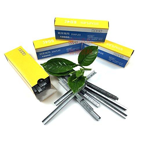 2BOXS 20000PCS pinza grape nail Staples per Tapetool, Tapetool nail for new Generation giardino piante Tapetool mano legando macchina