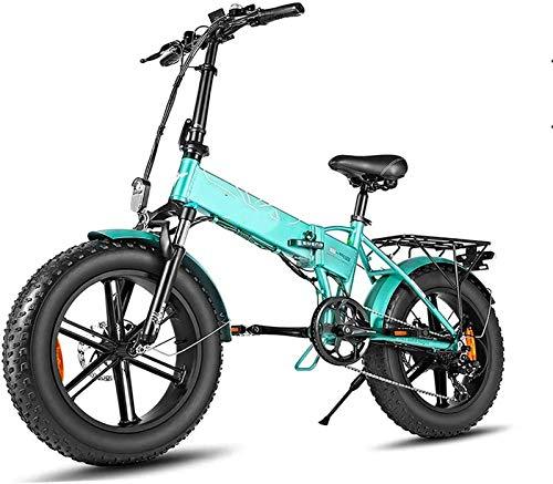 Bicicletas Eléctricas, 500w plegable bicicleta eléctrica de montaña adultos E bicicletas con...