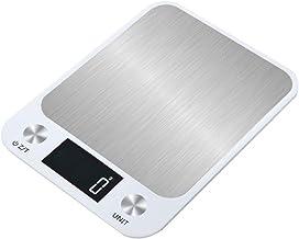 HJTLK Balance électronique de Cuisine, Balance de Cuisine Domestique Haut de Gamme Pesage Cuisson (sans Batterie) Balance ...