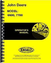 John Deere 6600 7700 Combine Owner Operators Manual