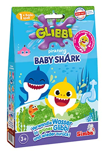 Simba 105953399 Glibbi Baby Shark, 2-sort