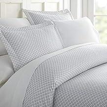 طقم اغطية السرير من هوم كوليكشن Twin/Twin Extra Long IEH-DUV-PLS-TWIN-GRAY