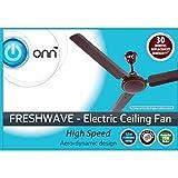 Walmart Brand - ONN Ceiling Fan, Fresh Wave, 75Watt, 1200mm, Ivory Color
