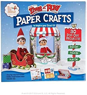 CREATIVELY CLASSIC ACTIVITIES AND BOOKS Scout Elves at Play Paper Crafts