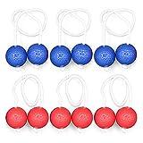 Lixada Leiter Golf Ball für Toss Spiel 6 Satz Harte Golf Trainingsbälle Outdoor Game Ball Set