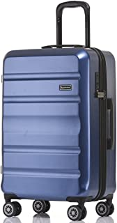 QANTAS Melbourne 78cm 4 Wheel Trolley Suitcase, (Blue), (QF970-78-B)
