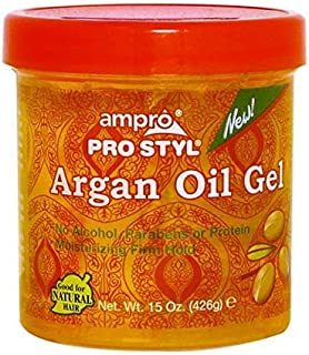 Ampro Gel Argan Oil, 15 Oz.