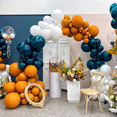 TITSHOP Set di 127 palloncini a forma di ghirlande di palloncini in lattice, per compleanni, matrimoni, baby shower, decorazioni per feste