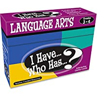 I Have... Who Has...? Language Arts Games: Grades 3-4