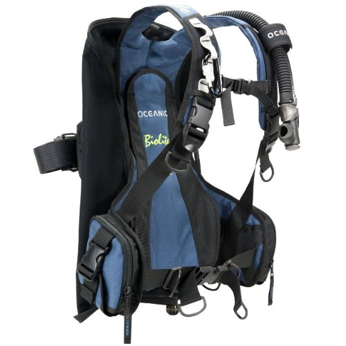 Oceanic New BioLite Travel Scuba Diving BCD -Blue (Size X-Small)