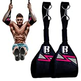 Hanging Ab Straps for Pull up Bar- Ideal Pull up assist straps - Premium Pull up Bar Straps and…