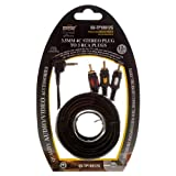 TopZone 12FT 3.5 mm to 3 RCA AV Camcorder Video Cable