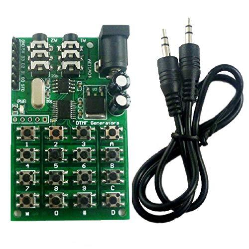 DTMF Generator Encoder Transmitter Module Wähltastatur MCU-Steuerung für PC Interphone Mobile Audio Smart Home