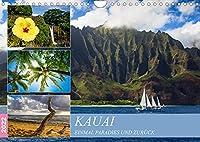 Kauai - Einmal Paradies und zurueck (Wandkalender 2022 DIN A4 quer): Entdecken Sie eines der letzten Paradiese dieser Erde. (Monatskalender, 14 Seiten )