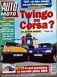 AUTO MOTO [No 127] du 01/06/1993 - OU FAIRE CHANGER SON POT D'ECHAPPEMENT -TWINGO OU CORSA -AVANT-PREMIERE / LA NOUVELLE PETITE BMW -ESSAIS / DIESELS / SAFRANE ET ALFA - FIAT TIPO - ALFA 155 TD ET FORD EXPLORER