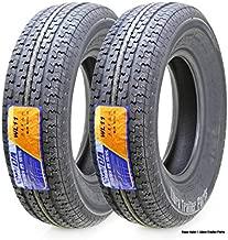 2 New Premium WINDA Trailer Tires ST 205/75R14 8PR Load Range D