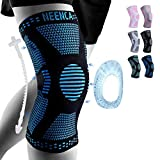 NEENCA Professional Knee Brace,Knee Compression Sleeve Support for Men Women,Medical Grade Knee Protector for...