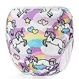 Storeofbaby Pañales de baño reutilizables para bebés lavables reutilizables ajustables para niños pequeños 0 3 años
