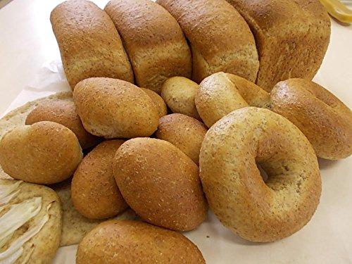 むーにゃん 無添加ライ麦パン 1ポット分 (食パン型4本 ベーグル8個 プチパン10個)