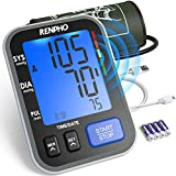 RENPHO Blood Pressure Monitor Upper Arm for Home Use with Speaker, Accurate Automatic