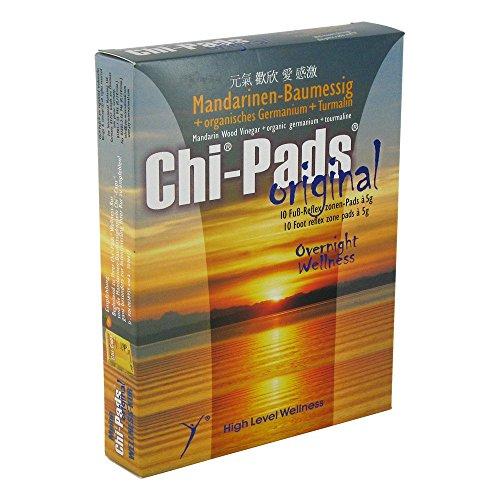 CHI PADS Mandarin.Baumessig Fußreflexzonen Pads 10X5 g