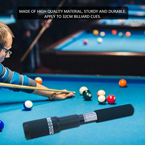 FECAMOS Billard-Pool-Queue-Erweiterung Neun-Ball-Pool-Queue-Erweiterung Billard-Queue-Erweiterung für 32-cm-Billard-Queues