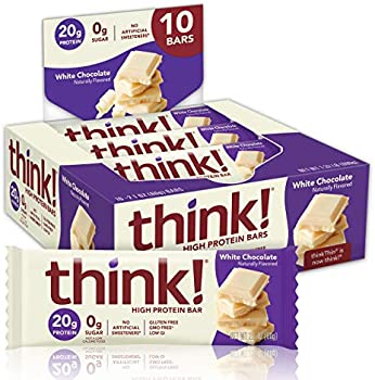 10 Count think! High Protein Bar, White Chocolate Flavor