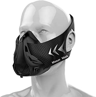 Training Mask, Elevation Fitness Running Resistance Mask, Simulation 6 Breathing Levels Cardio, for Gym Endurance And HIIT...