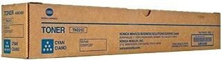 Konica Minolta TN221C A8K3430 Bizhub C227 C287 Toner Cartridge (Cyan) in Retail Packaging
