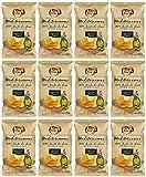 Lay's Artesanas Mediterraneas - Patatine fritte in olio di oliva 170 gr - confezione da 12 buste
