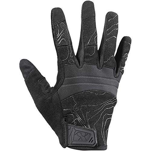 YOSUNPING Full Dexterity Tactical Gloves Touch Screen Airsoft Paintball Military Army Shooting Work Protection Guard Gear Full Finger Gloves Black M