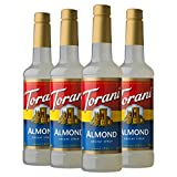 Torani Syrup, Almond, 25.4 Ounces (Pack of 4)