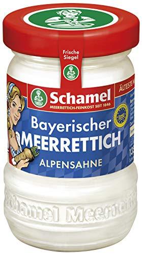 Schamel Meerrettich Alpensahne, 6er Pack (6x 135 g)