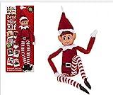 Elves Behavin Badly Elfo Flexible Flexible de 12 'con Cabeza de Vinilo - Accesorio de Navidad (Niño...