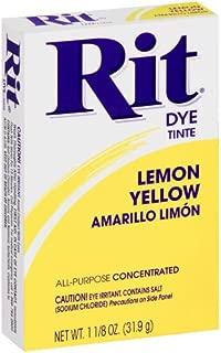 Rit All-Purpose Powder Dye, Lemon Yellow