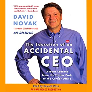 The Education of an Accidental CEO audiobook cover art