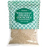 Roland Foods Whole Wheat Israeli Couscous, Toasted Pasta, Specialty Imported Food, 5-Pound Bag